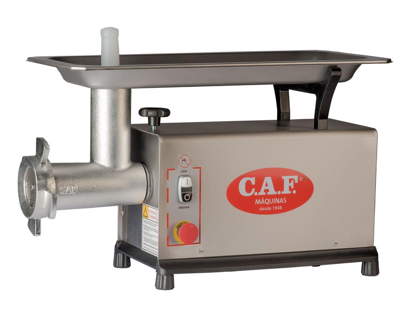 Moedor Picador de Carne em Inox 10 - CAF