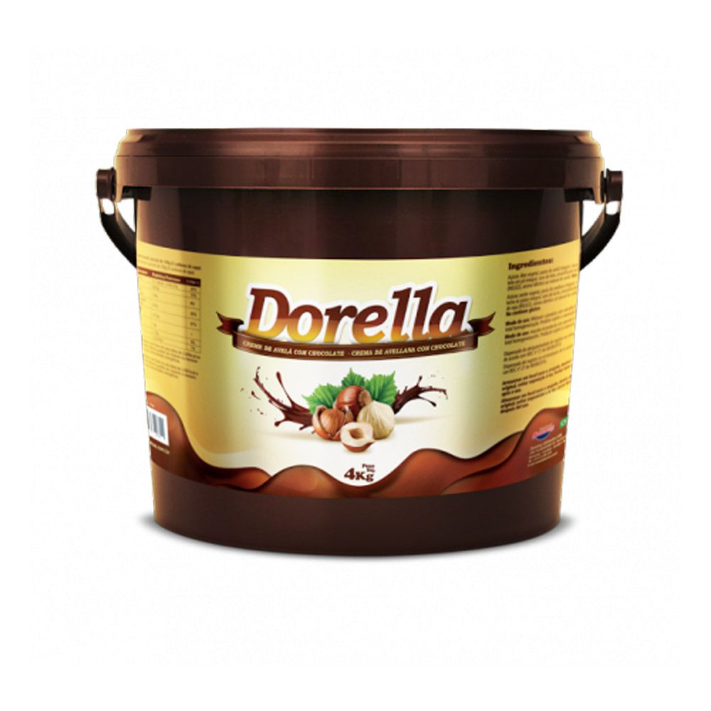 Dorella 4 Kg - Creme de Avelã com Chocolate