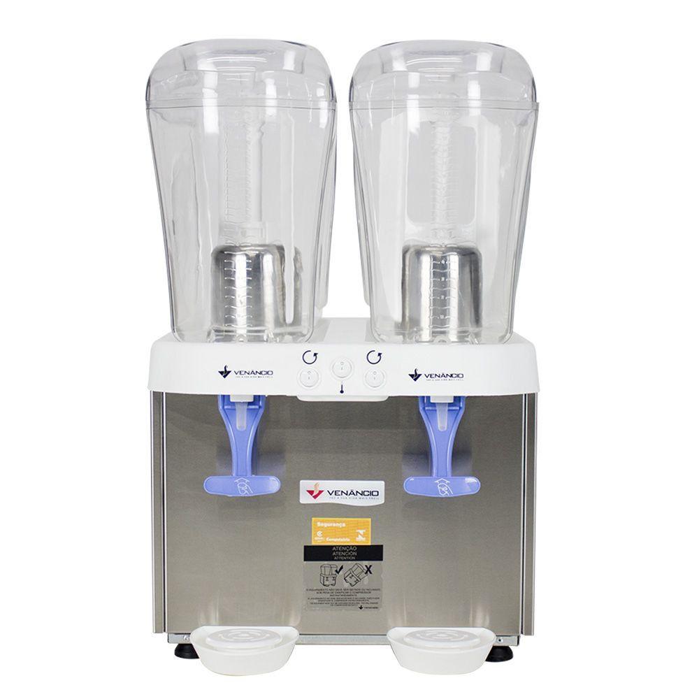 Refresqueira Inox 2 Reservatórios de 16 litros RV216 Venâncio