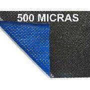 Capa Térmica Blackout 7,5x4,5m 500 micras Piscina Aquecida