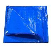 Lona Azul Sl300 Micras Cobertura Multiuso Telhado 8x4 Mts