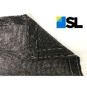 Tela Sombrite Preta 80% - 4x5m Com Bainha E Ilhós Sl