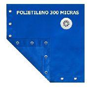 Lona Capa Proteção Cobertura De Piscina Prática 300 4x3 Mt