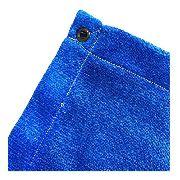 Tela Sombrite Azul 90% - 5m X 4m Com Bainha E Ilhós