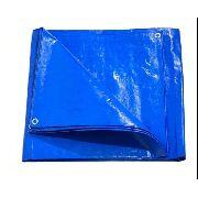 Lona Azul Cobertura Telhado Ou Piscina Sl300 Micras 6x6 Mts