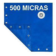 Capa De Piscina 9 Em 1 500 Micras Proteção 10,5x4,5m