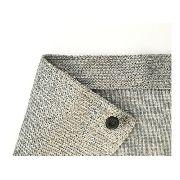 Tela Sombrite Prata 90% - 3x2m Com Bainha E Ilhós 50cm
