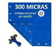 Capa De Piscina 3 Em 1 Proteção + Termica 9x5 M 300 Micras