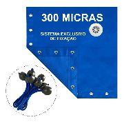 Capa De Piscina Proteção + Térmica Completa 7,5x3,5 Metros
