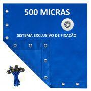 Capa De Piscina 16 Em 1 500 Segurança+térmica 4,5x2,5 Mts