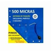 Capa Piscina para Proteção Azul 500 Micras - 6,5x3,5