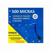 Capa Piscina para Proteção Azul 500 Micras - 9x4,5