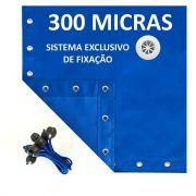 Lona Polietileno Azul 300 Micras - 4x3,5
