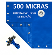 Lona Polietileno Azul 500 Micras - 11x5,5