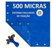 Lona Polietileno Azul 500 Micras - 7x3