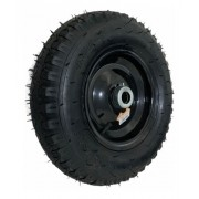 Roda Pneumática Para Carrinho de Carga Plataforma 400x8 Ou 40cm