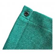 Tela Sombrite Verde 90% - Com Bainha E Ilhós - 4x16