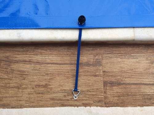 Capa De Proteção Para Piscina 500 micras 7x3,5m