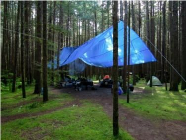 Lona Azul Sl300 Micras Cobertura Multiuso Telhado 6x6 Mt