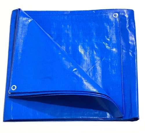 Lona Azul Sl300 Micras Cobertura Multiuso Telhado 3,50x2,50