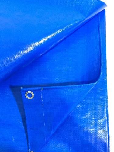Lona Azul 300 Micras Cobertura Multiuso Telhado 5x3 Metros