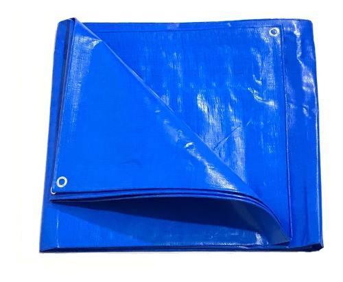 Lona Azul 300 Micras Cobertura Multiuso Telhado 5x2 Mts