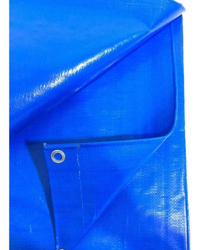 Lona Azul Impermeavel 300 Cobertura De Piscina Telhado 6x3 M