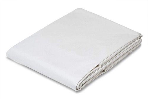 Lona 7x4 M Branca Cobertura Telao Tenda Barraca 300 Micras