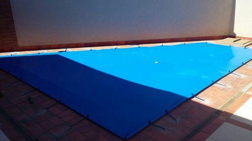 Capa De Piscina 9 Em 1 500 Micras Proteção 4,50x3,50m