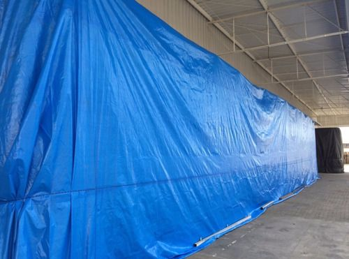 Lona Azul 300 Micras Cobertura Multiuso Telhado 7x7 Metros