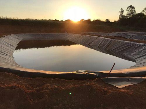 Geomembrana 300 Micras Impermeavel Lago Piscicultura 2,5x2,5