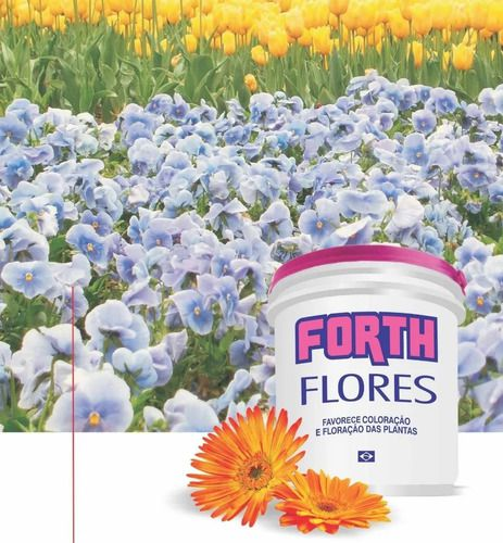 Fertilizante - Adubo Forth Para Flores - 400g