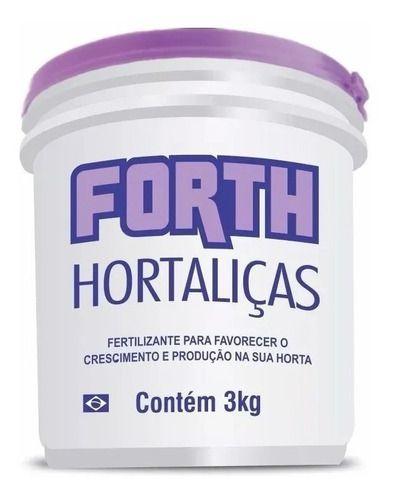 Fertilizante Para Hortaliças Horta Forth 3kg
