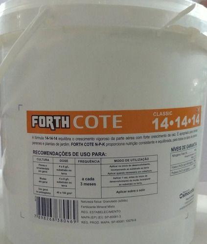 Adubo Fertilizante Osmocote Forth Cote 14-14-14 3kg