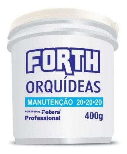 Adubo Peters Forth Orquideas Manutenção Fertilizante Azul