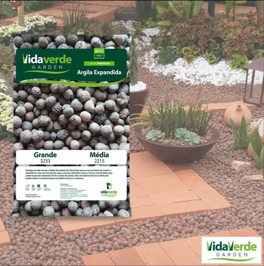 Argila Expandida Vida Verde 50L