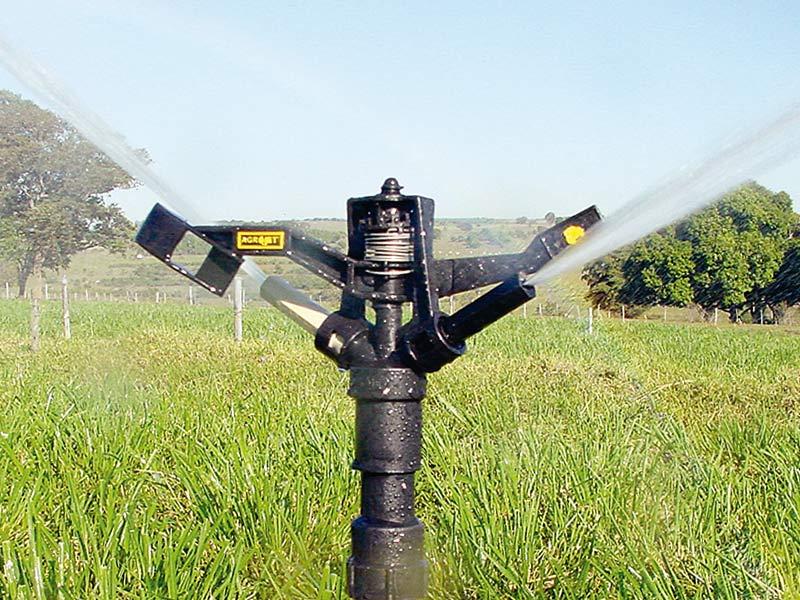 Aspersor Agrícola 5mm Bege Agrojet com Regulagem