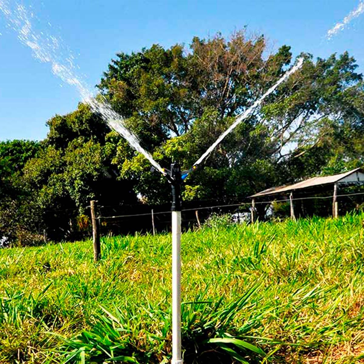 Aspersor Agrícola Irrigação 5mm Agrojet Com Regulagem