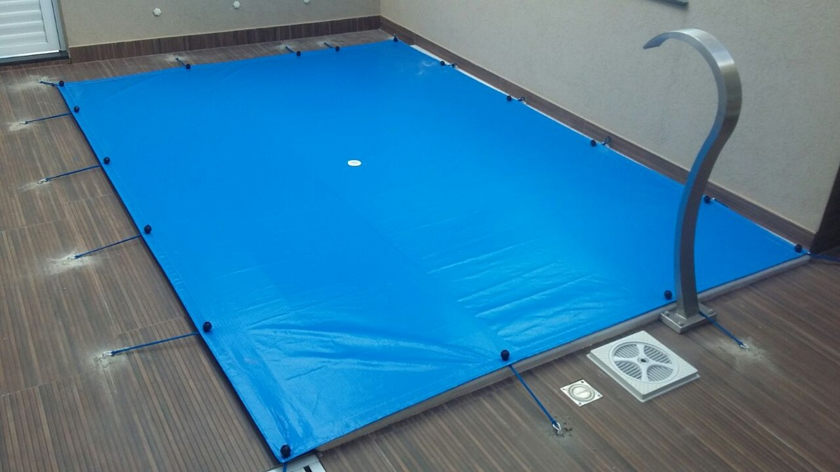 Capa para Piscina Azul 300 Micras - 8x3,5