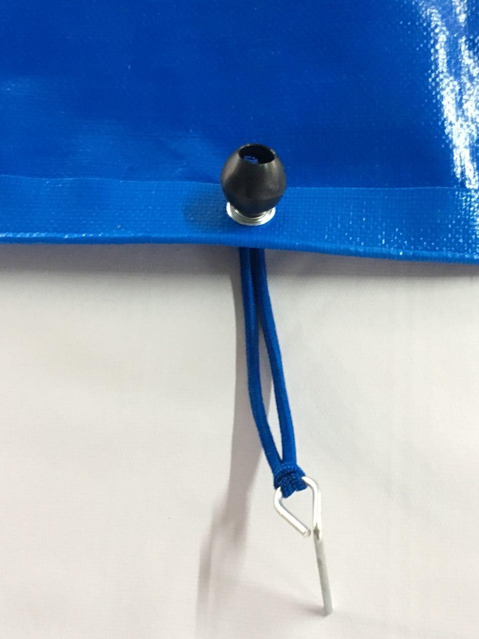 Capa para Piscina SL 500 Azul Completa com Acessórios Pinos e Extensores 6x4 m