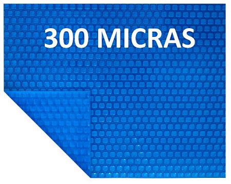 Capa Térmica 3x4 m 300 micras Piscina Aquecida