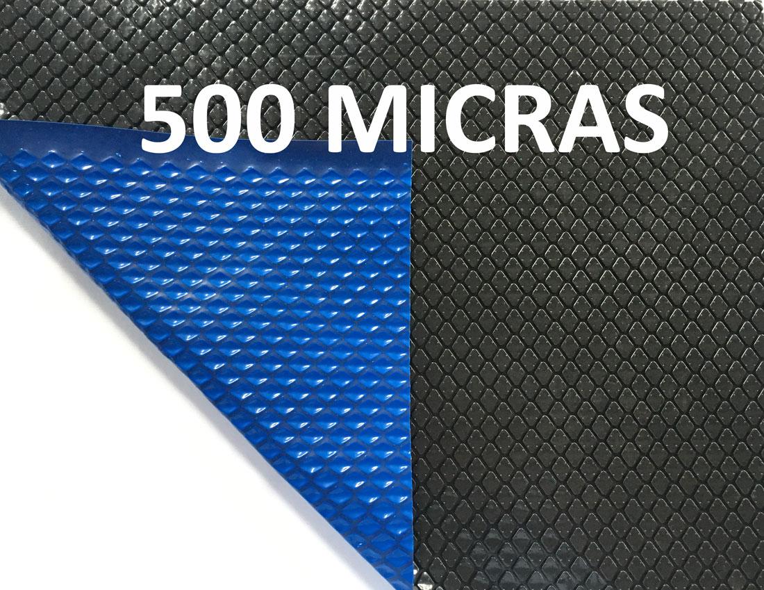 Capa Térmica para Piscinas Aquecida Blackout 500 Micras