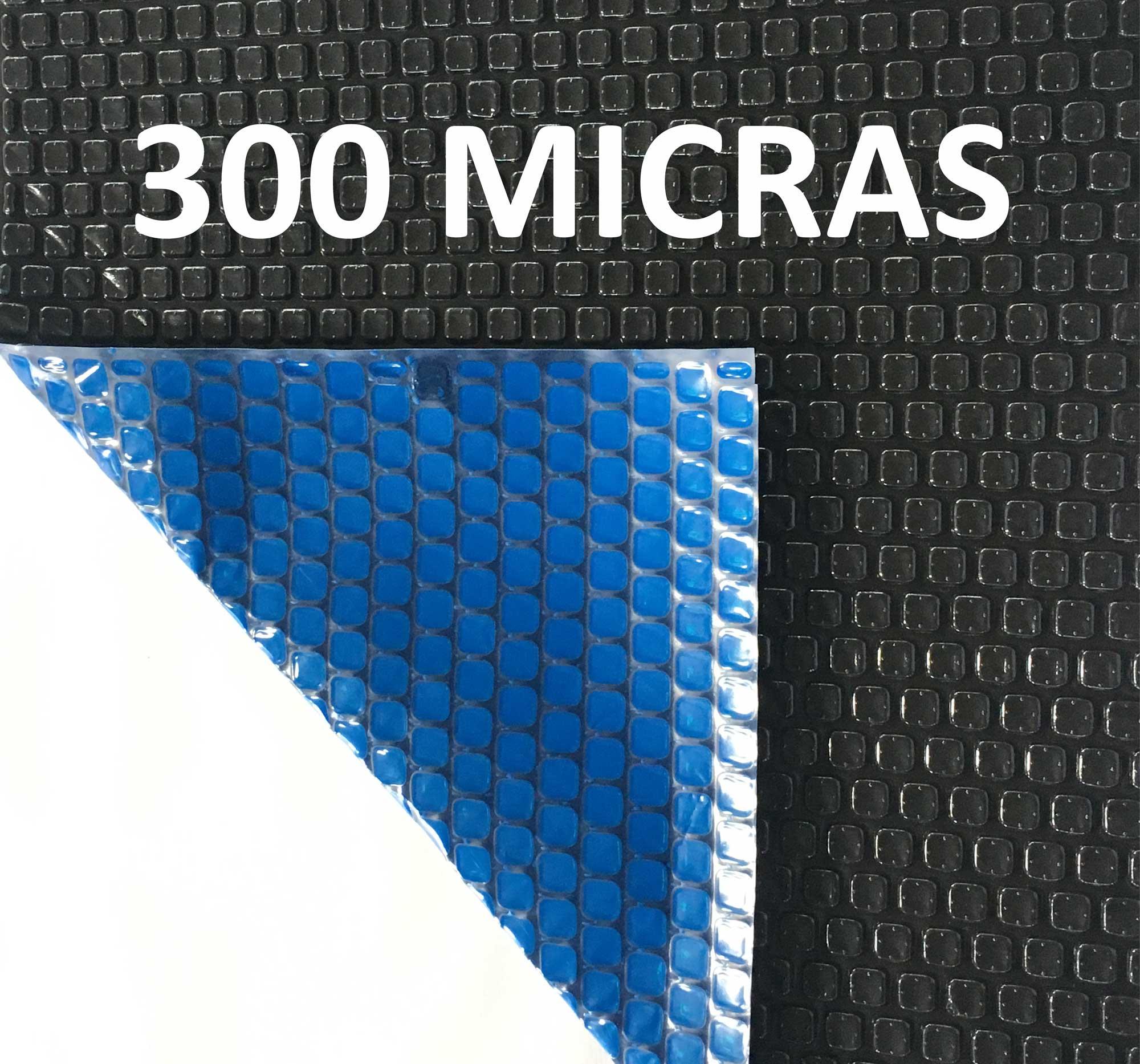 Capa Térmica Piscinas Aquecida Blackout 300 Micras 9x2,5m