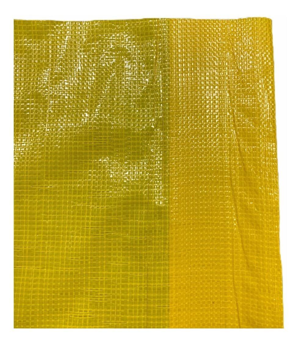 Cortina Aviário Amarelo 2,60x50 120grs