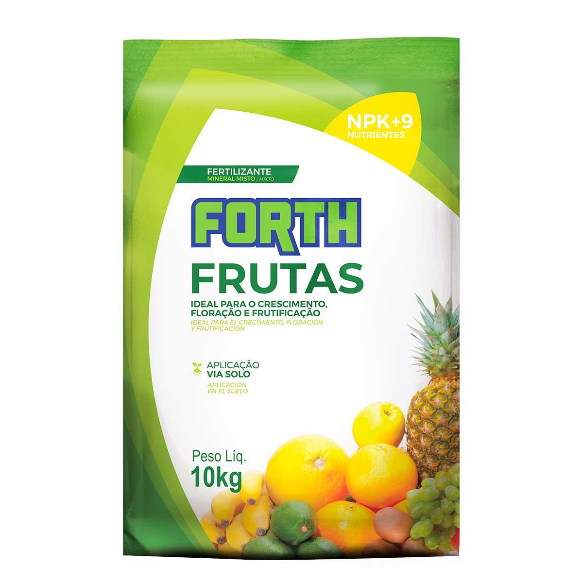 Fertilizante Adubo FORTH Frutas 10kg