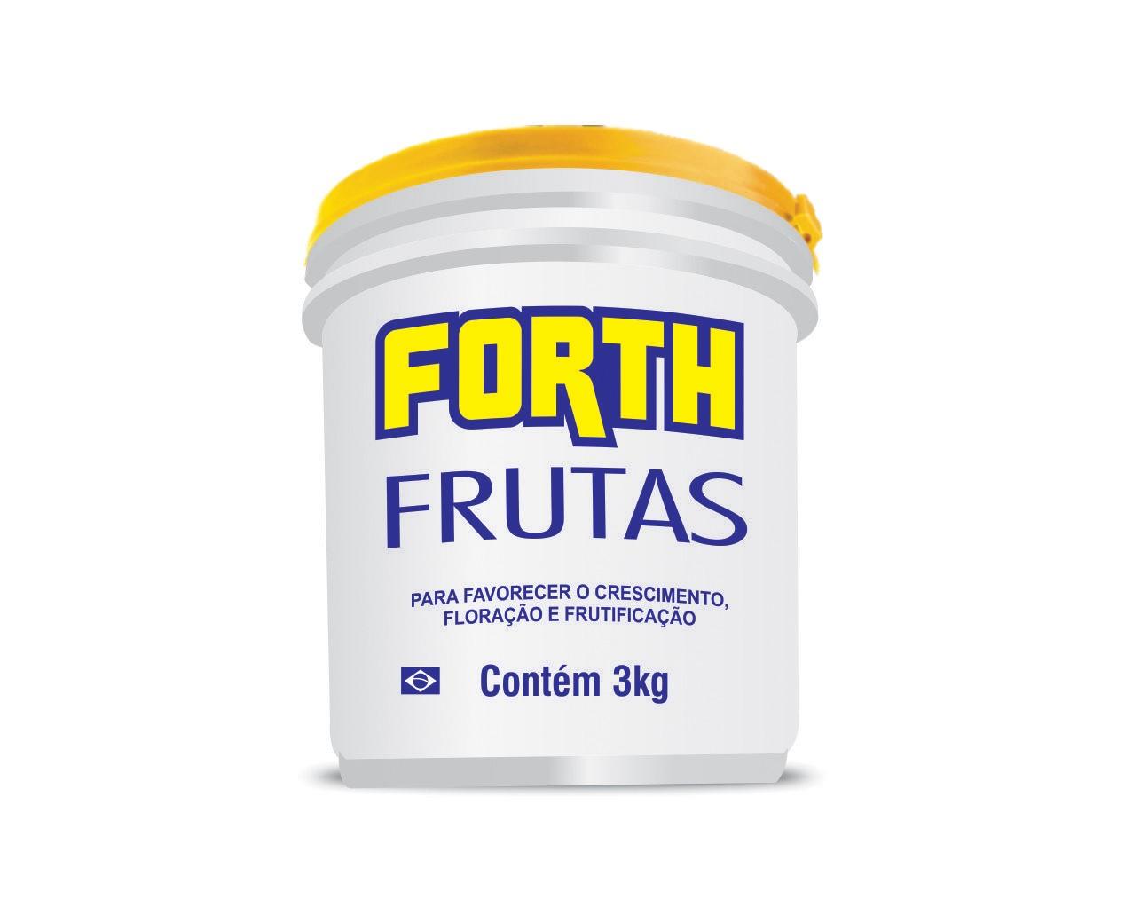 Fertilizante Adubo FORTH Frutas 3kg