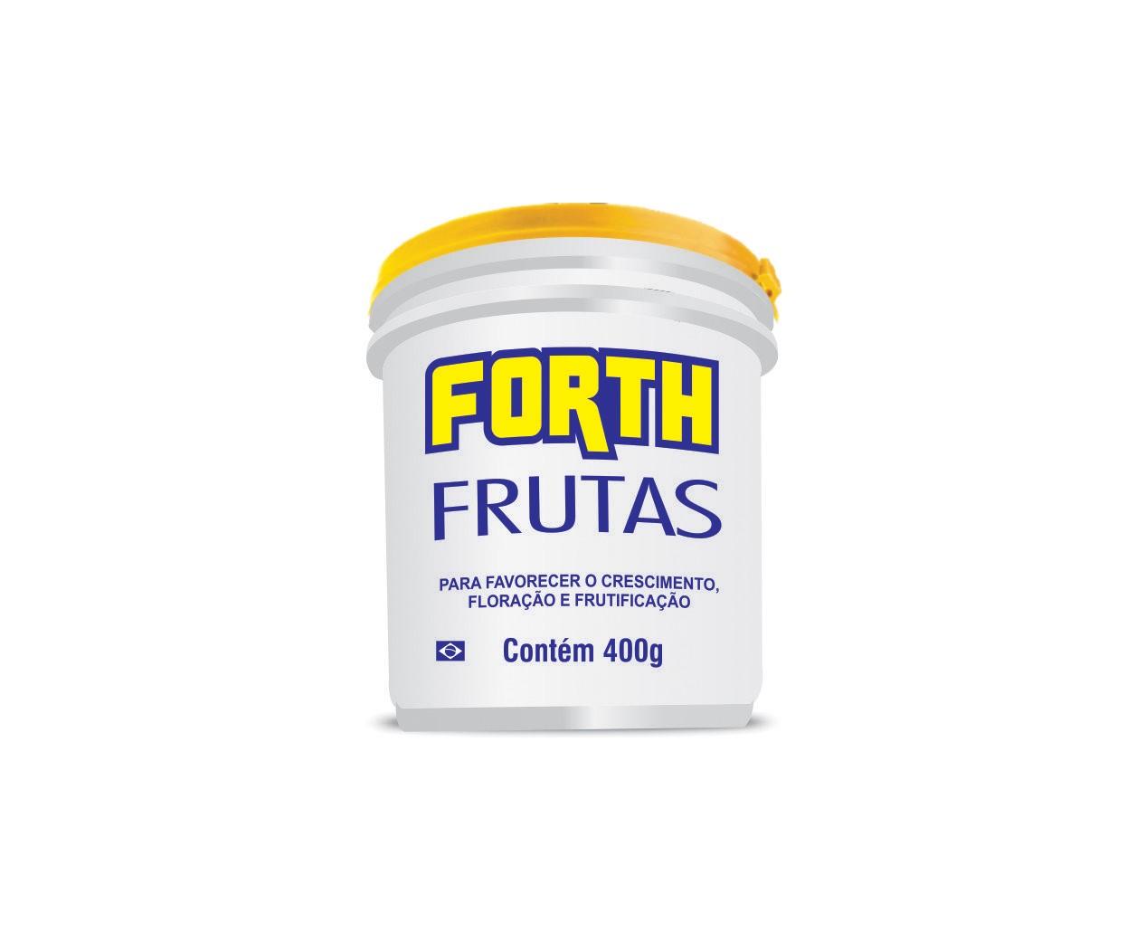 Fertilizante Adubo FORTH Frutas 400g