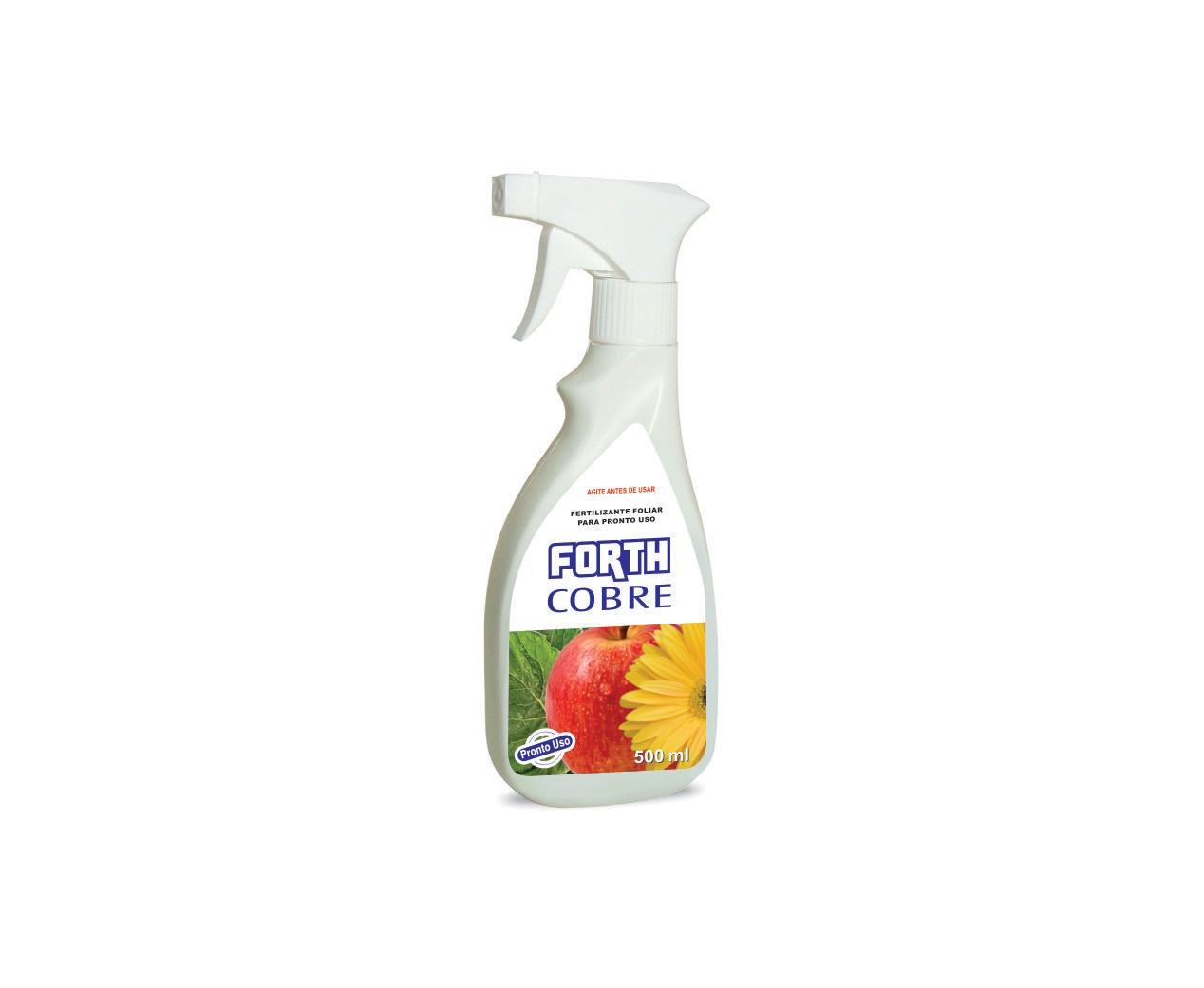 Fertilizante FORTH Cobre Liquido Pronto Para Uso 500ml