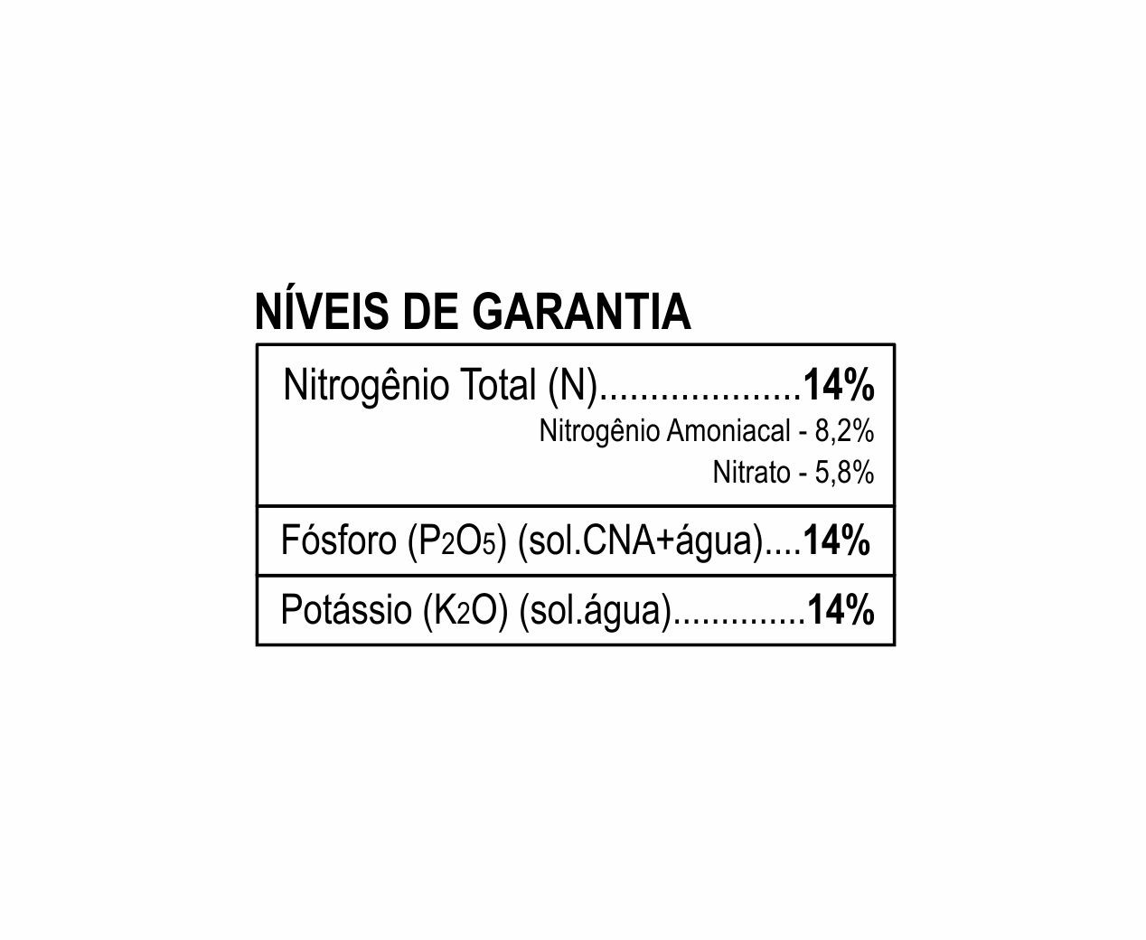 Fertilizante FORTH Cote Classic 14-14-14 3 Meses 400g