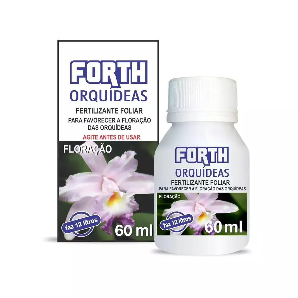 Fertilizante FORTH Orquídeas Floração Liquido Conc. 60ml